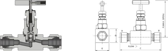 进口仪表针型阀