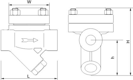 进口热静力膜盒式蒸汽疏水阀